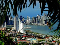 View of Panama City, Panama from Ancon Hill.   One of the 100 places to visit before you die.