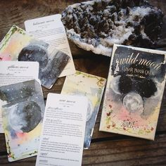 WILD MOON DECK - Walk through the month alongside the moon and her cycles with the Wild Moon Lunar Phase Deck. Tarot Card Decks, Tarot Cards, Moon Deck, Lunar Phase, Oracle Tarot, Oracle Deck, Diy Deck, Deck Of Cards, Insight