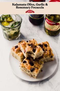 #ad This recipe for Kalamata Olive, Rosemary Best Vegan Bread Recipe, Best Vegetarian Recipes, Vegan Recipes Easy, Whole Food Recipes, Snack Recipes, Dessert Recipes, Bread Recipes, Vegan Appetizers, Vegan Snacks