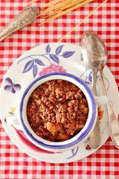 LAS SALSAS DE LA VIDA: Salsa boloñesa {sugo alla bolognese}