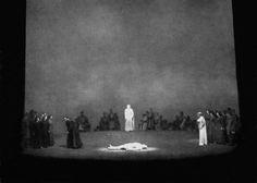 """"""" Götterdämmerung """" 3.Aufzug 2.Bild 1954 Wieland Wagner Bühnenphoto"""