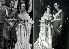 Fashion History: Grand Duchess Kira Kirillovna married Prince Louis Ferdinand of Prussia 04/05/1938