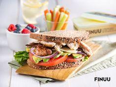 Pomysł na pyszną i soczystą kanapkę z FINUU! #finuu #finuupl #sniadanie #inspiracje #jedzenie #kanapki #sandwich #finlandia #finland #breakfast