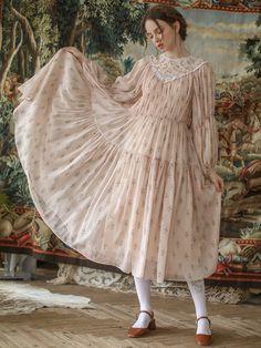 Modest Dresses, Simple Dresses, Pink Princess Dress, Pink Dress, Modest Fashion, Girl Fashion, Bohemian Style Clothing, Boho Dress, Bohemian Dresses