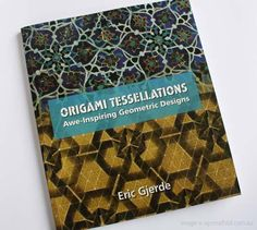 Origami tessellations - I've always wanted to try this.
