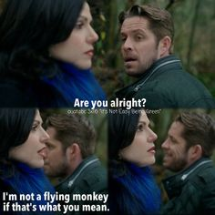 I am not a flying monkey if that's what you mean.