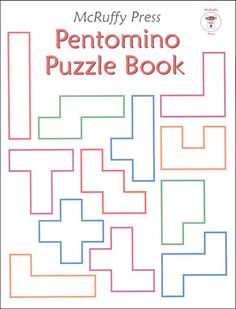 Pentomino Puzzle Book | Main photo (Cover)