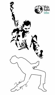 Rami Malek as Freddie Mercury in Bohemian Rhapsody Freddie Mercury Tattoo, Tatouage Freddie Mercury, Freddie Mercury Quotes, Queen Freddie Mercury, 16 Tattoo, Band Tattoo, Silhouette Tattoos, Silhouette Art, Fred Mercury