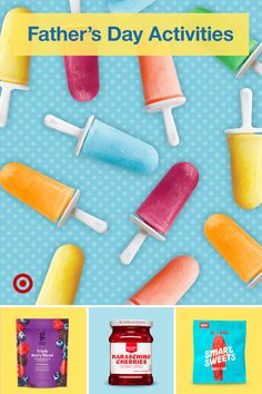 Gift dad something he really wants—fun family time. Find Father's Day activities, summer treats & DIY popsicle ideas the kids will love. Disney Original Movies List, Father's Day Activities, Funny Fathers Day Gifts, Great Gifts For Dad, Family Night, Summer Treats, Childhood Memories, Routine, Clean Eating