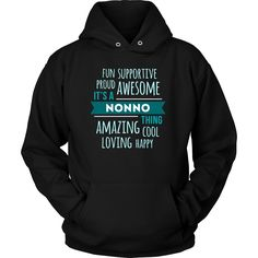 Fun Supportive Proud Awesome It's a Nonno thing Amazing Cool Loving Happy Grandpa Family T-shirt