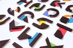 Display Typeface on Behance