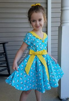 Vintage Meets Modern: A Classic Lifestyle New Look - Popular Vintage African Dresses For Kids, Dresses Kids Girl, Girls Party Dress, Kids Outfits, Toddler Dress, Baby Dress, Retro Fashion, Kids Fashion, Create Kids Couture