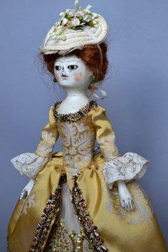 VENDU Repro de poupée de la Reine Anne par par DariaVistavnaArt