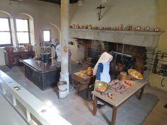 Les Hospices de Beaune - Hôtel-Dieu - la cuisine