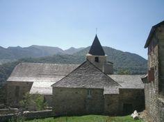 L'église de Lescun