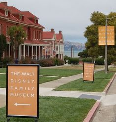 Walt Disney Museum - Presidio.  Our trip would begin with a visit to San Fransicso to see the museum.