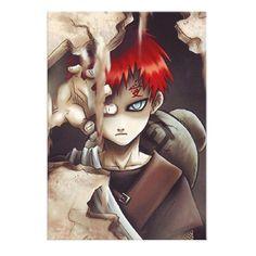 Naruto Shippuden Gaara Canvas Poster - 60x80cm