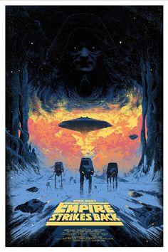 Star Wars V: The Empire Strikes Back, by Killian Eng #killianeng #starwarsprint