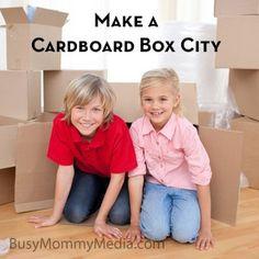 Make a Cardboard Box