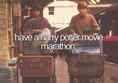 #312 Have a Harry Potter Movie Marathon
