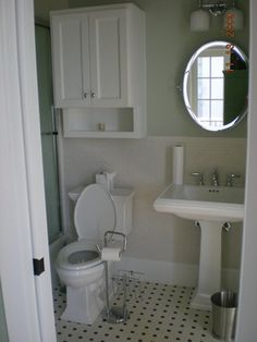 Small Bathroom Floor Tile Design Ideas, Pictures, Remodel, and Decor
