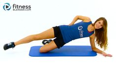 Flat Belly Workout - Abs and Obliques Workout to Tone Stomach - YouTube