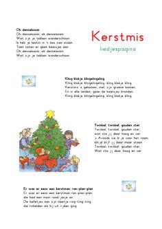 Liedjespagina: Kerstmis