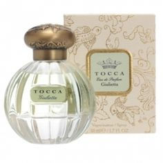 TOCCA Giulietta // Bulgarian Rose, Ylang Ylang, Green Apple, Pink Tulips, Lily of the Valley, Vanilla Orchid, Lilac, Cedarwood, Musk, Amber, Sandalwood // At Hoity Toity