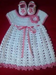 New Snap Shots Crochet baby girl dress Strategies Baby Dress Crochet Baby Dress Flower Baby Girl Clothes Bab – Her Crochet Crochet Dress Girl, Crochet Baby Dress Pattern, Baby Girl Dress Patterns, Baby Girl Crochet, Crochet Baby Clothes, Skirt Patterns, Coat Patterns, Blouse Patterns, Baby Booties Knitting Pattern