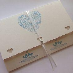 Personalised Wedding Garter Ivory butterfly design