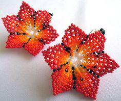 Mexican Huichol Beaded Flower Necklace and Earrings set | Etsy The Snake, Huichol Art, Flower Necklace, Bead Art, Deities, Earring Set, Jade, Crochet Earrings, Mexican