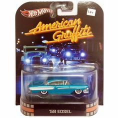 www.rafgtoys.com.br: Hot Wheels Retro Entertainment - American Graffiti...