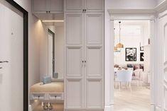 Studio Apartment Layout, Apartment Design, Hallway Furniture, Home Decor Furniture, Contemporary Interior Design, Office Interior Design, Ikea Kids Room, Small Hall, Inside Home