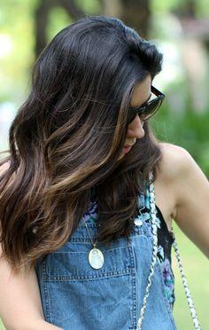 ombré hair para morenas, brunette, camila coutinho, loiro.