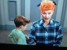 #ILoveLucy  so weird in color !