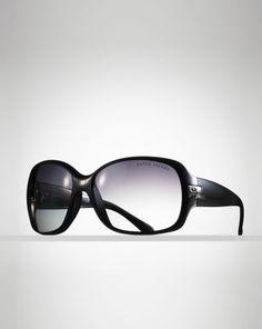 RL Square Wrap Frame - Ralph Lauren Ralph Lauren Handmade Eyewear - RalphLauren.com