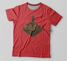 80701caa4 Camiseta Joystick · Roupas GeekCanecas PersonalizadasEstampasAgência De  Design CriativoGeeksEstiloVideogamesCamisetas PersonalizadasCamisas