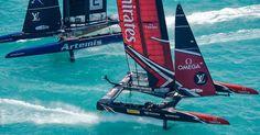 America's Cup 2017 @Bermuda Louis Vuitton Final: Artemis vs New Zealand