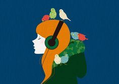 the Bird and the Girl by begoberlin , via Behance