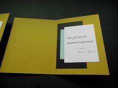 inside of back to school card for Megan & Chris, Kristen - September 2014