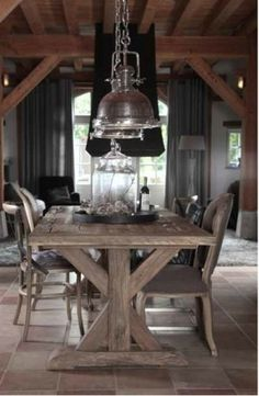 wood elements dining