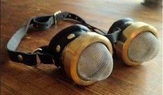 Brute Force's tea strainer goggles