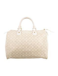 Louis Vuitton Mini Lin Speedy 30