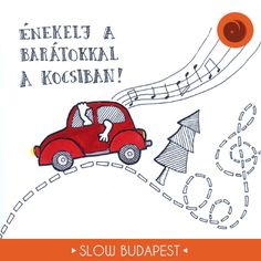Rajzoljuk a slow forradalmat! | Slow Budapest © Papp Ágnes https://www.behance.net/pappagnes