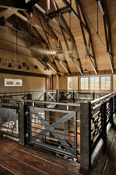 The gambrel barn design is well suited to barn homes or traditional barn uses. Based on European style barns, the gambrel increase the interior capacity vs. Gambrel Barn, Gambrel Roof, Metal Barn Homes, Pole Barn Homes, Metal Shop Building, Building A House, Building Plans, Building Design, Detail Architecture