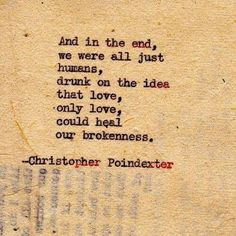 Christopher Poindexter | quotes