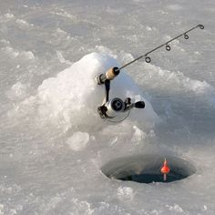 Ice fishing is carried out on a frozen body of water. The ice fishing gear the fishermen may use is either fishing lines or spears and they . Ice Fishing Huts, Ice Fishing Gear, Fishing Guide, Sport Fishing, Fishing Bait, Gone Fishing, Fishing Stuff, Fishing In Canada, Winter Fishing