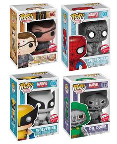 Pop Television Pop Television, Bobble Head, Vinyls, Wolverine, Walking Dead, Funko Pop, Spiderman, Room Ideas, Marvel