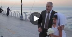 Groom And His Child Bride Pose For Pictures In Public. Now Watch How Passers-by React