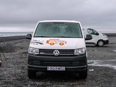 Camp Easy campervan in Iceland front view